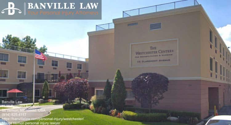 rehabilitation center near personal injury lawyer in Mount Vernon, New York